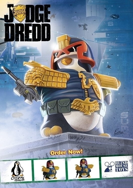 Judge Dredd Cospaly Penguin vin - eamon-9249 | ello