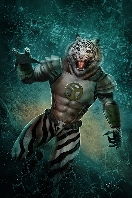 WHITE TIGER - COMIC, HERO, MONSTER - carlosvillas | ello
