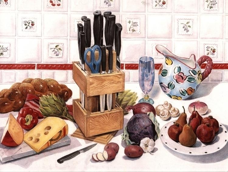 Illustration Cutlery Carousel - illustration - doritart | ello
