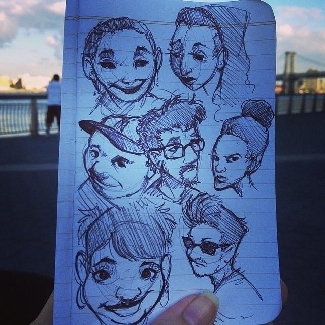Sketches 6/2014 - sketches, doodles - barkpointstudio   ello