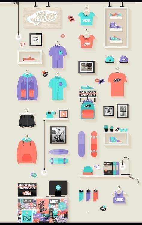 personal illustration project V - alwayssummer | ello