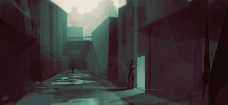 environment, conceptart, digitalpainting - jordan_buckner | ello