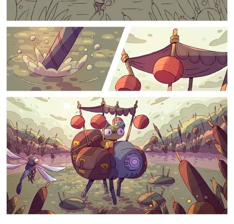 comics, wip - sergeygudkov | ello