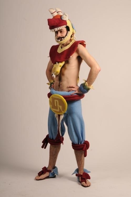 Aztec Warrior 1 - costumedesign - smouss | ello