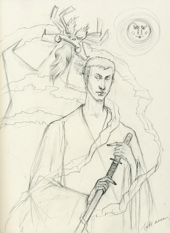 Samurai Jack - sketch, drawing, samuraijack - annaorca | ello