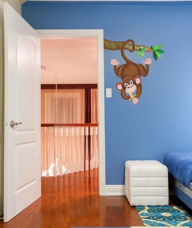 Monkey Decal - suzanne88 | ello