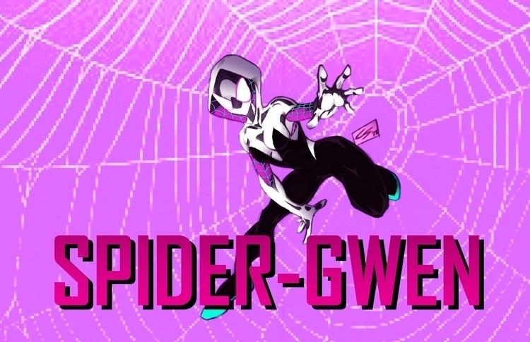 Spider-gwen friend. Drawn tradi - chadscott | ello