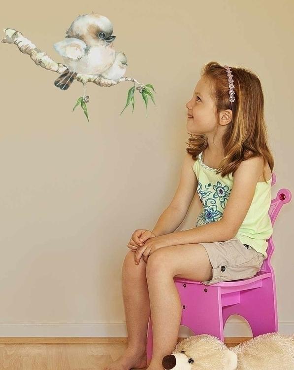 Kookaburra Baby Decal - suzanne88 | ello