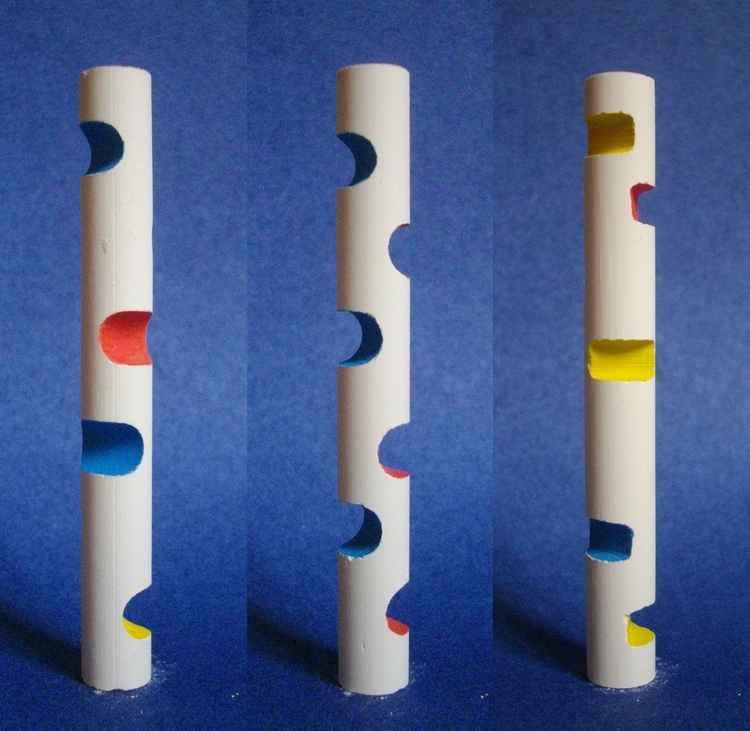 Chalk 2 - chalk, sculpture, ephemeral - smouss | ello