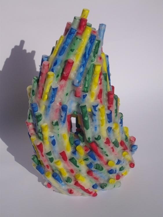 Chalk Growing - chalk, wax, sculpture - smouss | ello