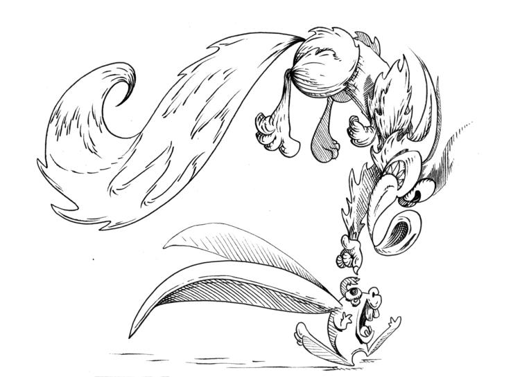 Catch yah - drawing, design, characterdesign - kaiman-6057 | ello