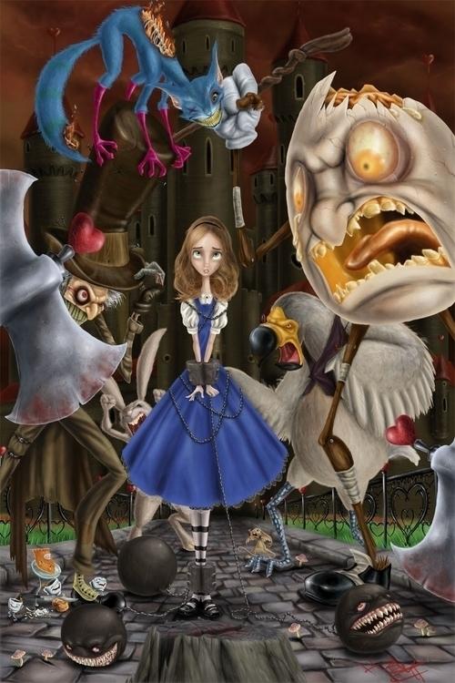 Heads roll! write story Alice - aliceinwonderland - hasaniwalker | ello