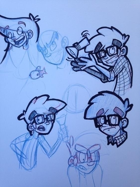 sketch, sketchbook, personal - dustlight_ | ello