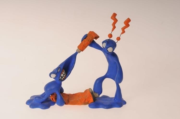 Blue-Man - figurine, artoyz, sculpture - smouss | ello