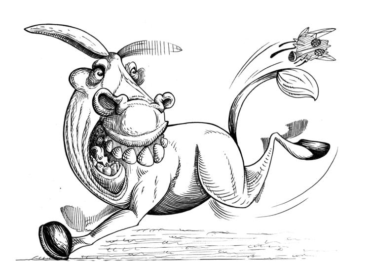 Death kick - illustration, characterdesign - kaiman-6057   ello