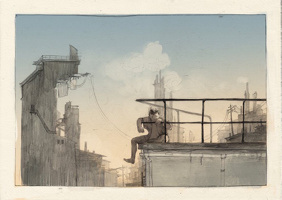 illustration, comic, environment - thomke-9244 | ello