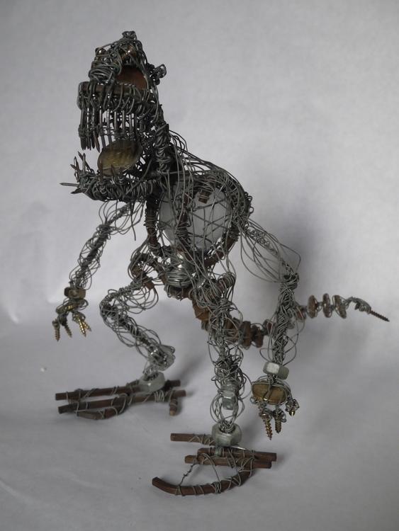 crisis - ironwire, sculpture, figurine - smouss | ello