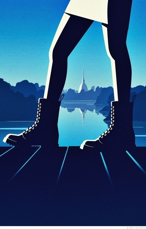 Step Turin. Personal project - illustration - joey-9441 | ello