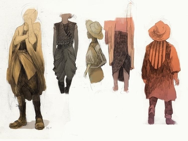 illustration, thomkemeyer, characterdesign - thomke-9244   ello