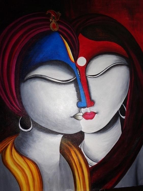SPIRITUAL FUSION - Radha Krishn - neeruart | ello