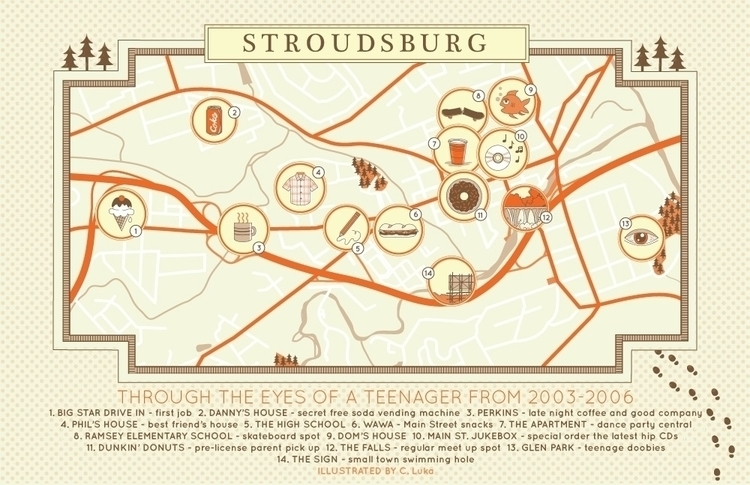 Stroudsburg Map: eyes teenager  - christinaluka | ello