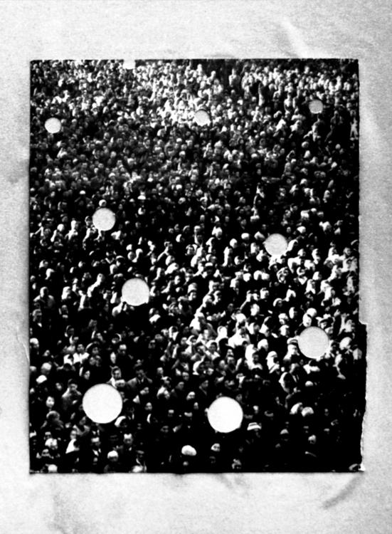Crowd - 1, collage, art, artistsonnabaroo - kimbogruff | ello