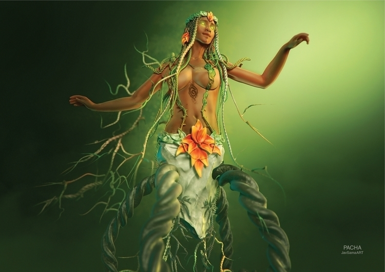 Pacha Mama, goddess responsible - javsamaart | ello