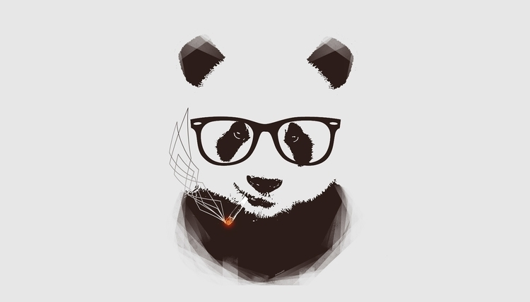 Hip Panda - illustration, HipPanda - javsamaart | ello