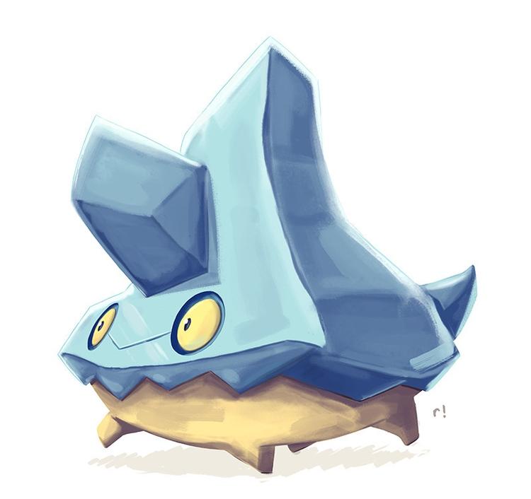 Bergmite - illustration, pokemon - ryannotbrian | ello