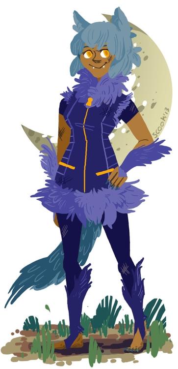 Werewolf - werewolf, doodles - scookart | ello