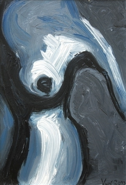 Part 1, 30x40 cm, oil canvas, 2 - vuja90 | ello
