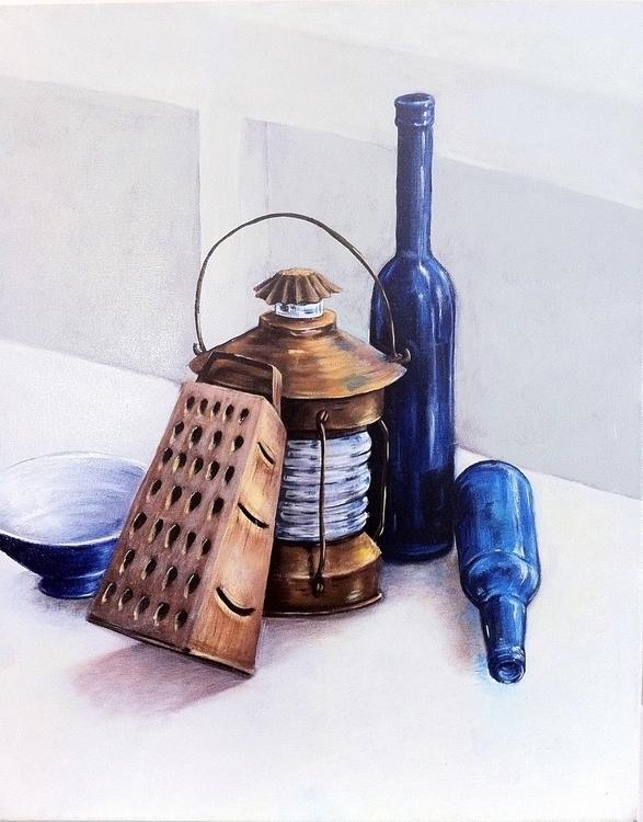 Oil painting life - crankyme | ello