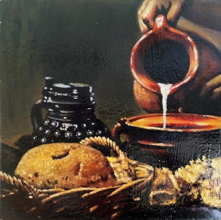 Oil painting crop copy master - crankyme | ello