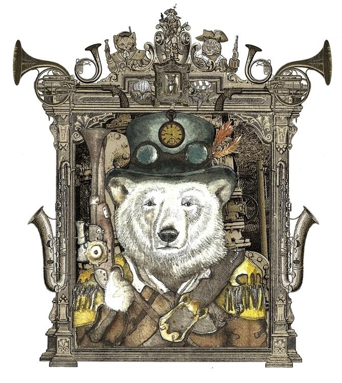 Polar Bear Warden Felis Simha - FelisSimha - felissimha | ello