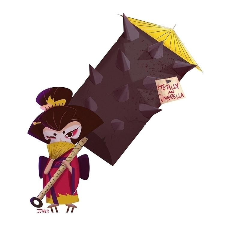 geisha Characer Design Challeng - jjneto | ello
