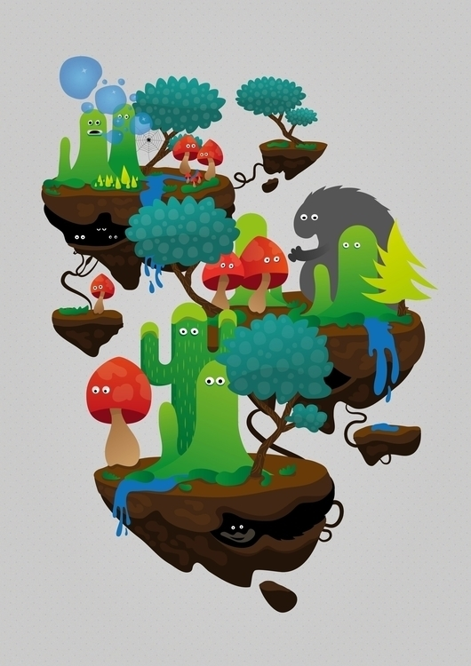 Wanderlust - illustration, digitalillustration - johniseifert | ello