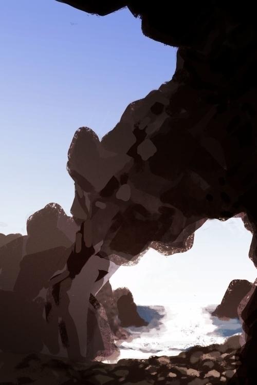 sisters ledge 2/2 - falcon, beach - flightlessbutstilltrying | ello