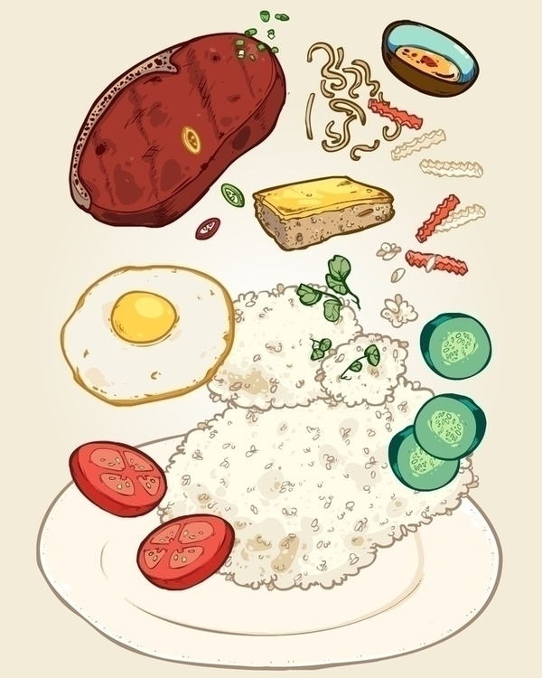 food, foodillustration - xuan_bachtruong | ello