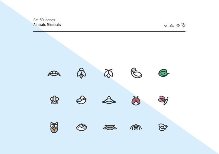 Diseño de Iconos párrafo Flatic - dariolopezbas | ello