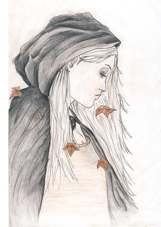Autumn - illustration, drawing, coloredpencil - cristinaporcelli | ello