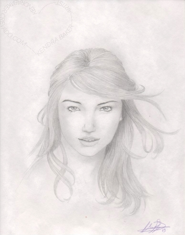 Kate Upton, unpaid portrait, 20 - kendra-5062 | ello