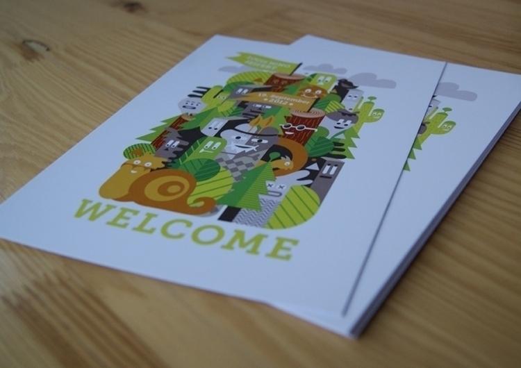 Birthcard - digitalillustration - johniseifert | ello
