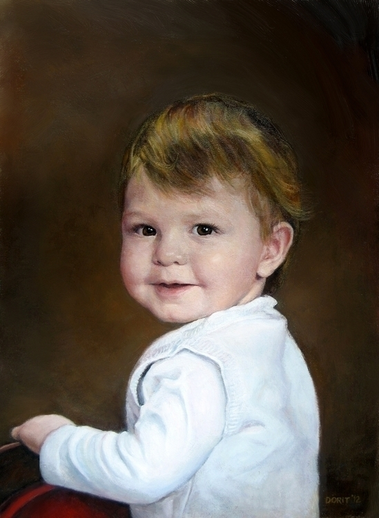 Portrait Oils Canvas - oilpainting - doritart | ello