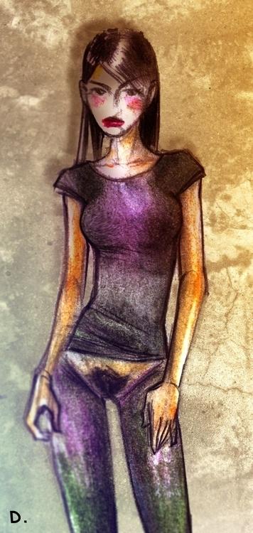 illustration, drawing - dedadarko | ello