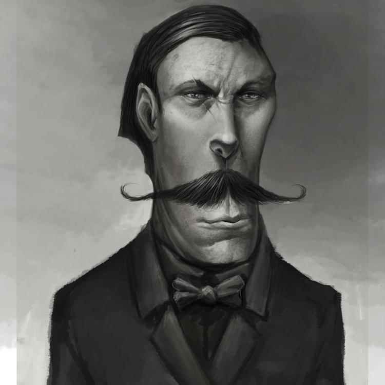 illustration, character, portrait - pencilpirate | ello