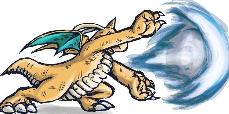 Dragonite Haoh! Shokoken: tough - bunnybird-1423   ello