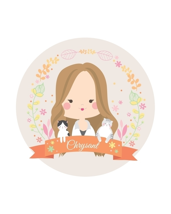 illustration, vector, personalized - viannavalentina | ello