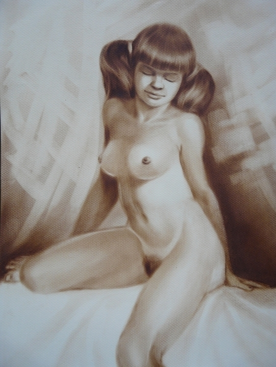 drybrush - painting - miros-3196 | ello