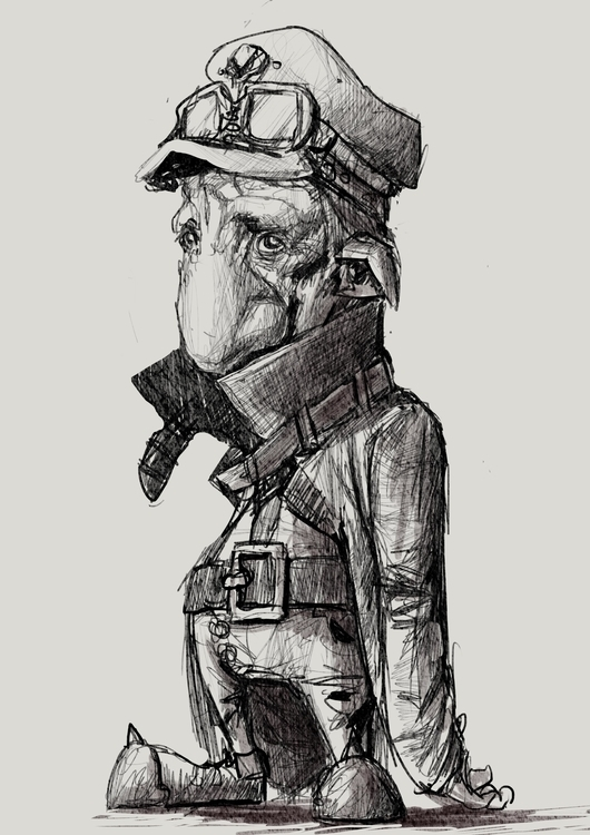 drawing, sketch, characterdesign - pencilpirate | ello