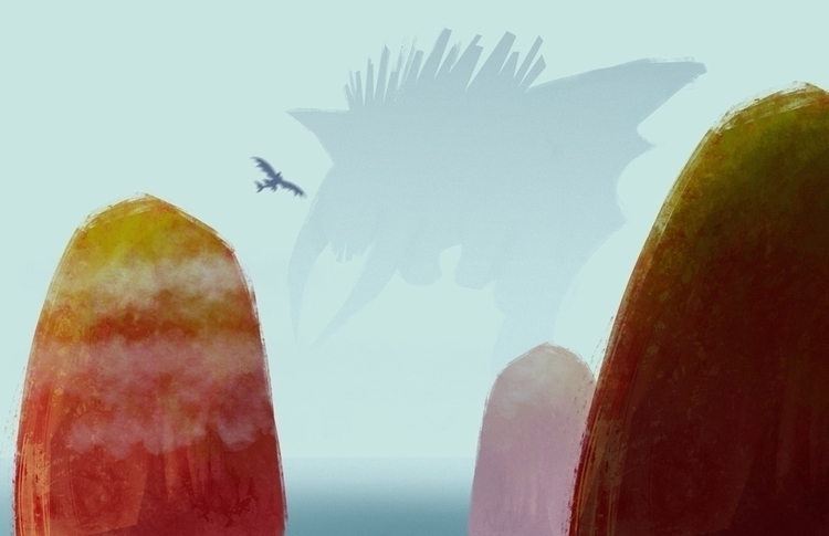 httyd2, environment, doodle, howtotrainyourdragon - artsypabster | ello